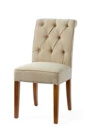 Hampton Classic Dining Chair, linen, flax riviera maison 3758001