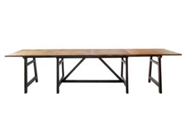 Cala Bassa Dining Table Extendable, 170/340x90cm Riviera Maison 323280