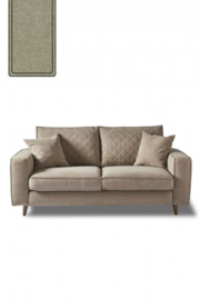 Kendall Sofa 2,5 Seater, oxford weave, ansvers flax Riviera Maison 4344002