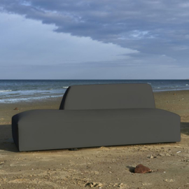 Formentera Outdoor Lounger Left Anthracite Riviera Maison 6628001