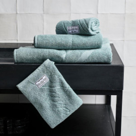 Spa Specials Wash Cloth green Riviera Maison 451760