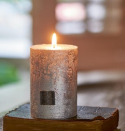 Rustic silver Candle 7 x 10 Riviera Maison 315890
