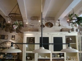 Hanglamp Vechia verstelbare plafondlamp incl. 3 witte kappen