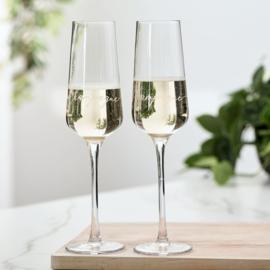 RM Champagne Glass 2 pcs Riviera Maison 457970