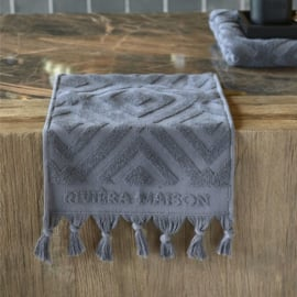 RM Chic Guest Towel anthracite 50x30 Riviera Maison 495350