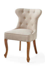 George Dining Chair, linen, flax riviera maison 3393005