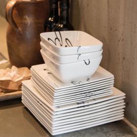6x Buon Appetito Bowl M Riviera Maison 182690