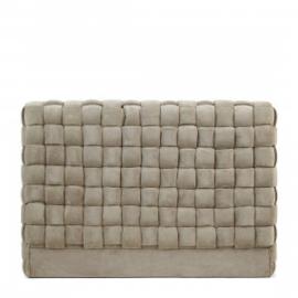 Room 48 Headboard, fine tweed, pebbles Riviera Maison 5015001