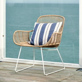 Hartford Outdoor Lounge Chair Natural Stone Whiteh Riviera Maison 448660