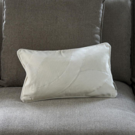 Purity Rib Leave Pillow Cover 50x30 Riviera Maison 491170
