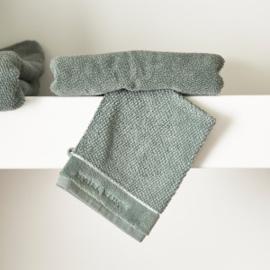 RM Elegant moss Washcloth Riviera Maison 466920