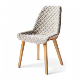 Amsterdam City Dining Chair, mouliné linen, elephant grey Riviera Maison 4433004
