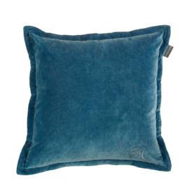RM Milestone Cushion Blue 43 x 43 cm kussen Riviera Maison (incl vulling) 176241