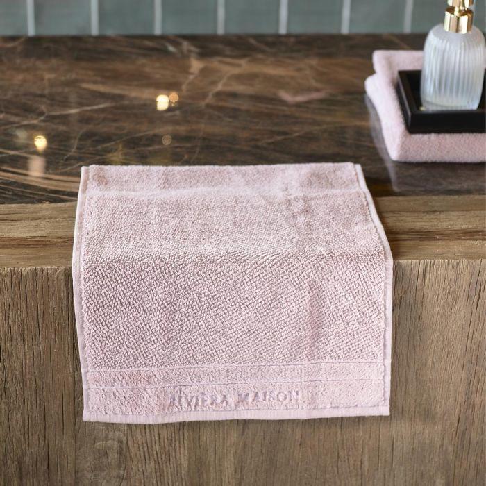 RM Elegant mauve Guest Towel 50x30 Riviera Maison 495290