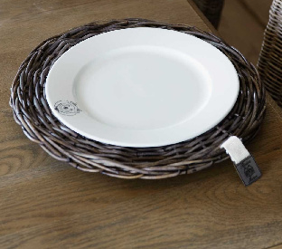 Rustic Rattan Plate Riviera Maison 101960
