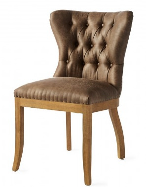 Wessex Dining Chair, pellini, coffee Riviera Maison 3881003