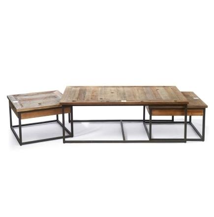 Shelter Island Coffee Table set Riviera Maison 292510