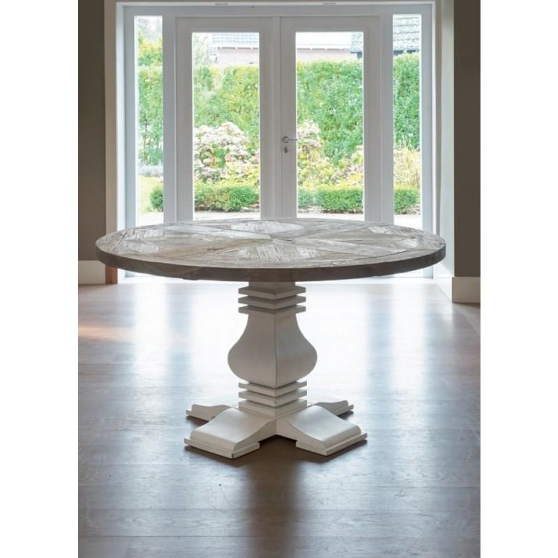 Crossroads Round Dining Table 140 cm Riviera Maison 215380