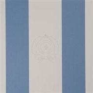 Wallpaper Class. Logo Stripe Pac.blue Riviera Maison