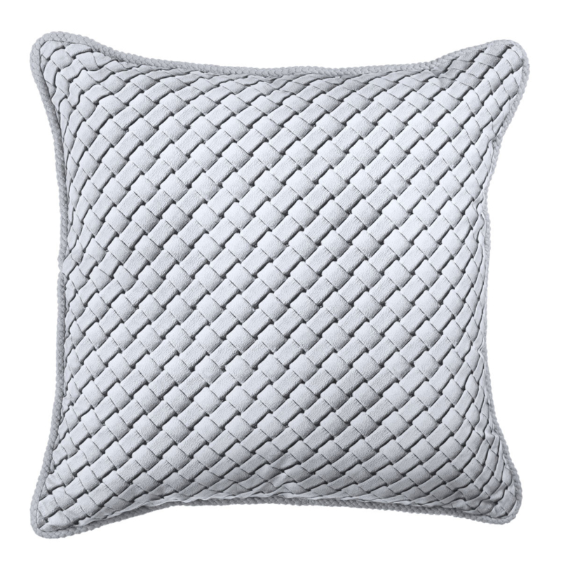 RM Resort cushion Light Grey 43x43 kussen Riviera Maison (incl vulling)