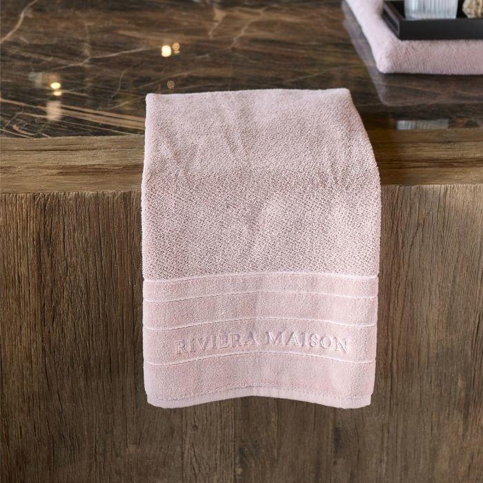 RM Elegant mauve Towel 100x50 Riviera Maison 495260