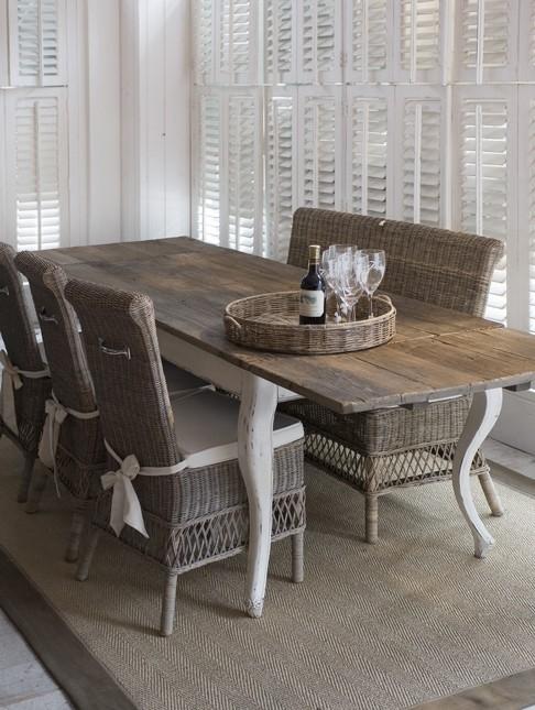 Tafeltje Van Riviera Maison.Driftwood Dining Table Extendable 180 280x90 Riviera Maison