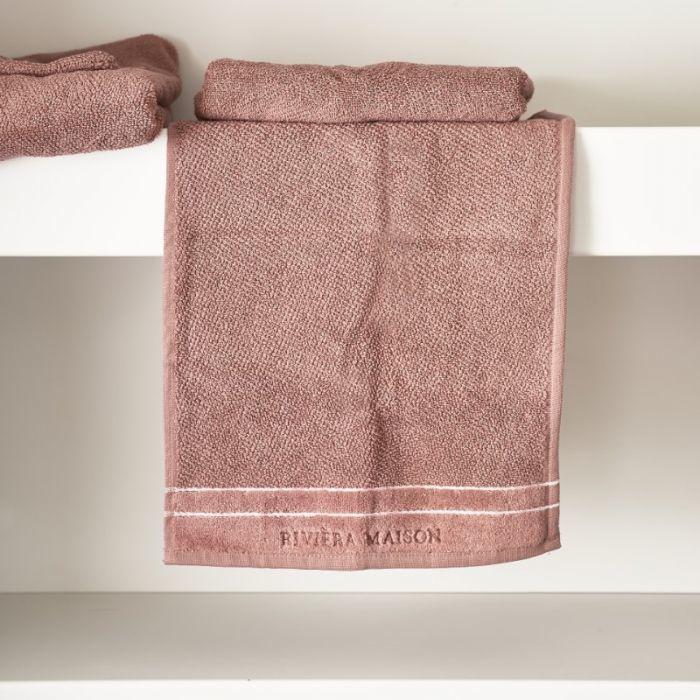 RM Elegant plum Guest Towel 50x30 Riviera Maison 466960  1+1 GRATIS
