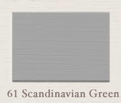 Painting the Past – 61 Scandinavian Green Houtverf Matt 750 ml