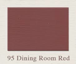 Painting the Past –95 Dining Room Red Houtverf Matt 750 ml