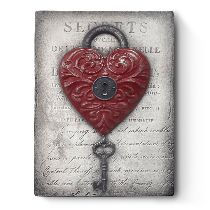 T532 Love Lock Sid Dickens tegel