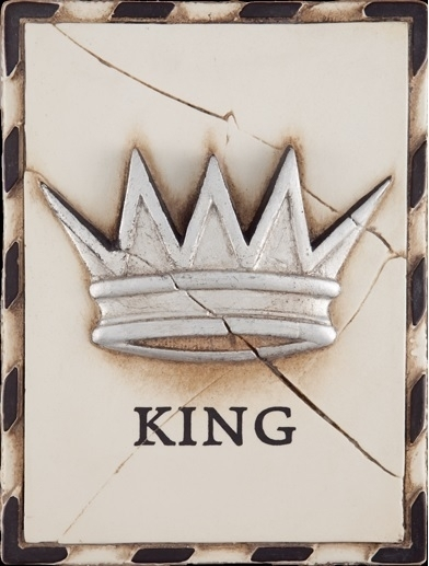 T 022 King (Silver)  Sid Dickens tegel bij Jolijt