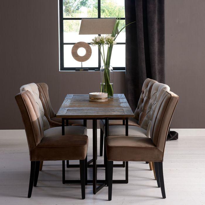 Shelter Island Folding Dining Table Riviera Maison 442220