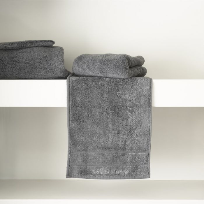 RM Hotel anthracite Guest Towel 50x30 Riviera Maison 466830