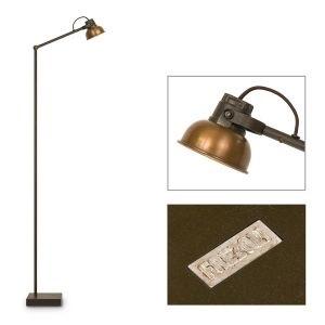 Mazz vloerlamp bruin Patina Frezoli L843.1.100