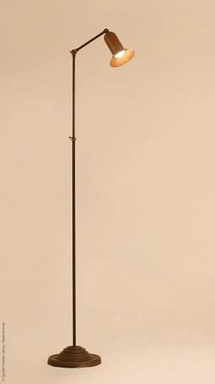 Crespino Bruin Patina vloerlamp Frezoli L.139.1.000
