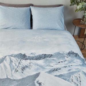 Riviera Maison dekbedovertrek Moritz Mountain Duvet Cover blue grey 240x220!