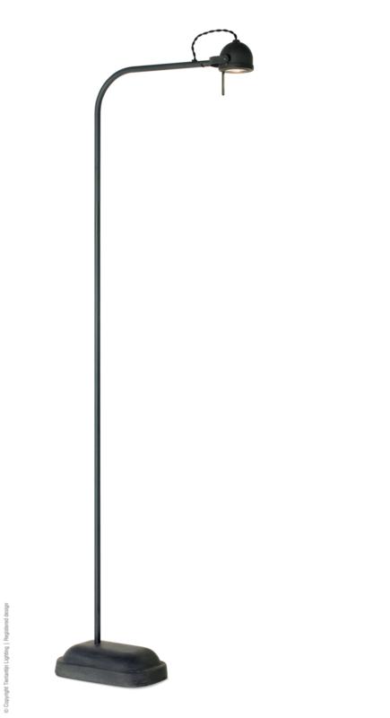 Spezia Vloerlamp loodkleur Frezoli L.173.1.410