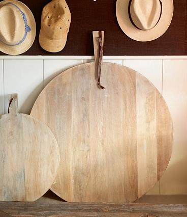 Port de Sont Chopping Board Round L Riviera Maison 299080