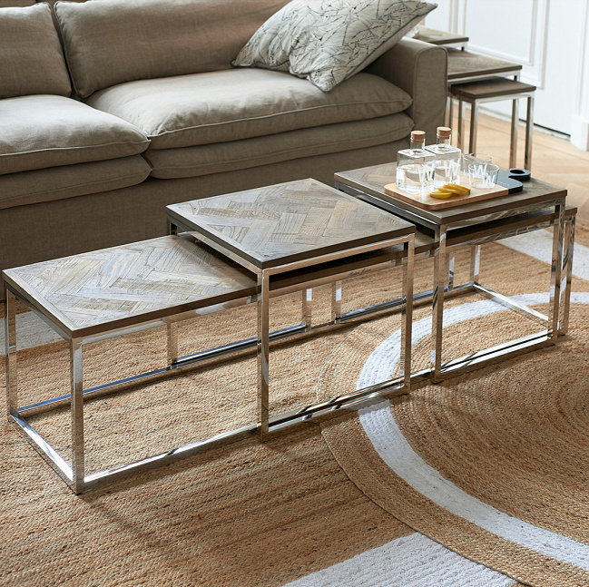 Bushwick Coffee Table Set 3 Riviera Maison 445620
