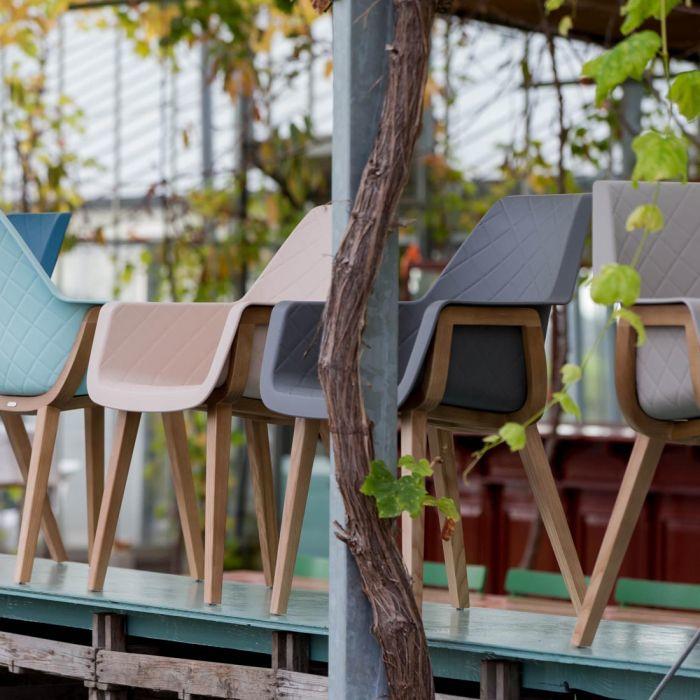 Amsterdam City Dining Armchair, pure white Riviera Maison 959001