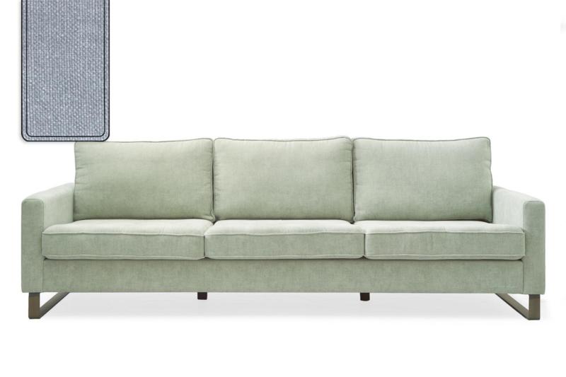 West Houston Sofa 3,5 seater, washed cotton, ice blue Riviera Maison 3904009