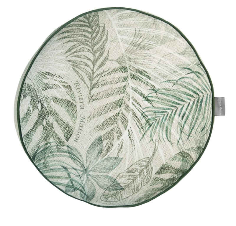 Rivièra Maison Bayou Green sierkussen 40 x 40 cm (incl. binnenvulling)!