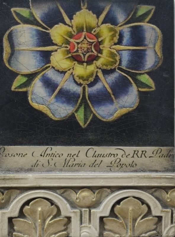 Sid Dickens tegel Ceiling Rose T538
