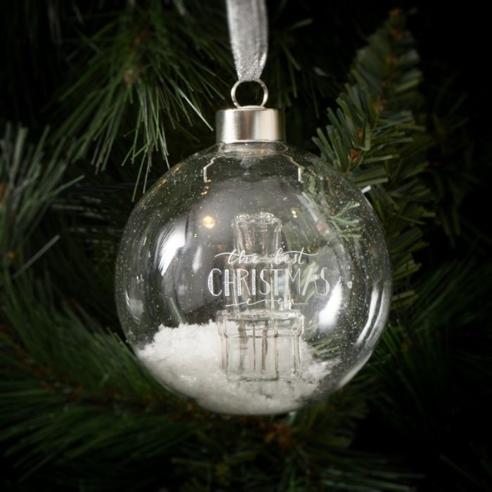 The Best Christmas Orn. silver D 10 Riviera Maison 459440