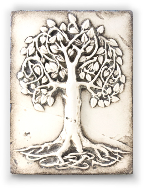 T406 Celtic Tree of Life Sid Dickens Tegel