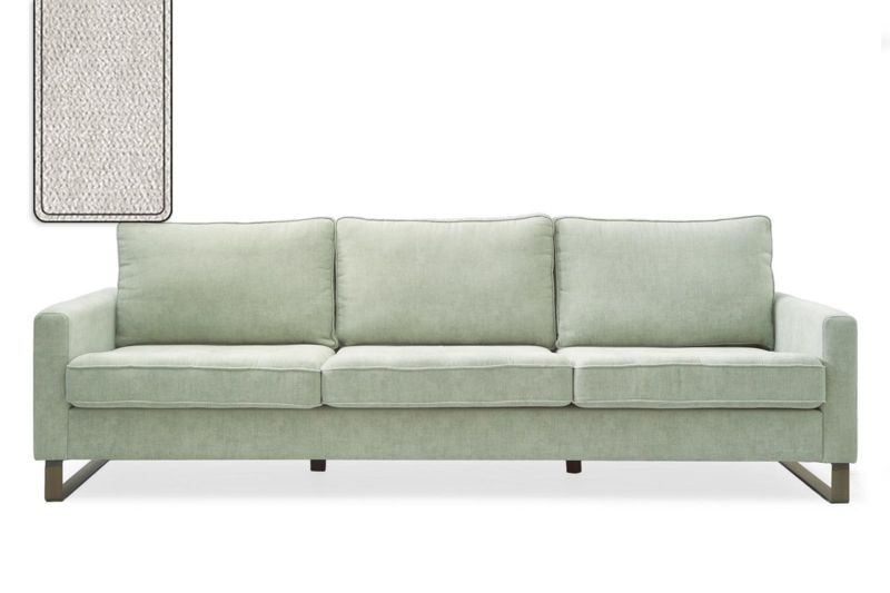 West Houston Sofa 3,5 seater, polyester-polyacryl, pearl Riviera Maison 3903002