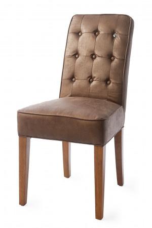 Cape Breton Dining Chair, pellini, coffee,Riviera Maison,3365010