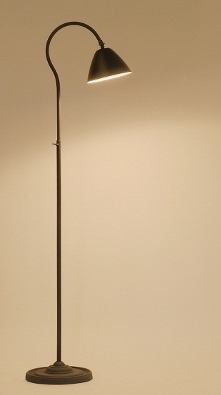 vloerlamp Tribano verstelbare  incl. kap Loodkleur Tierlantijn