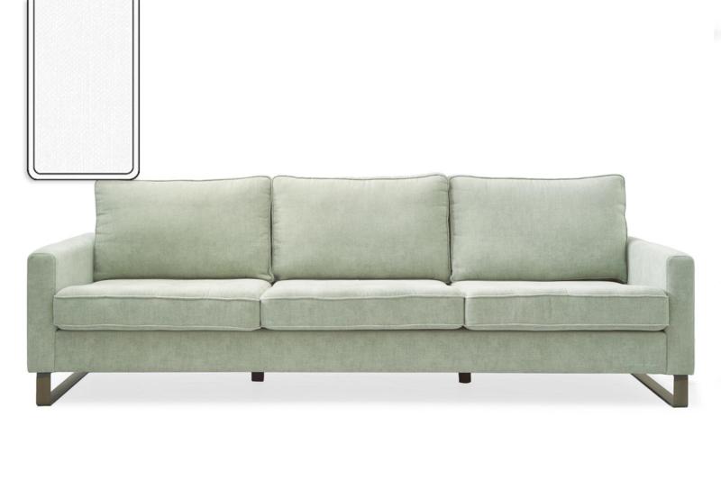 West Houston Sofa 3,5 seater, washed cotton, white Riviera Maison 3904005