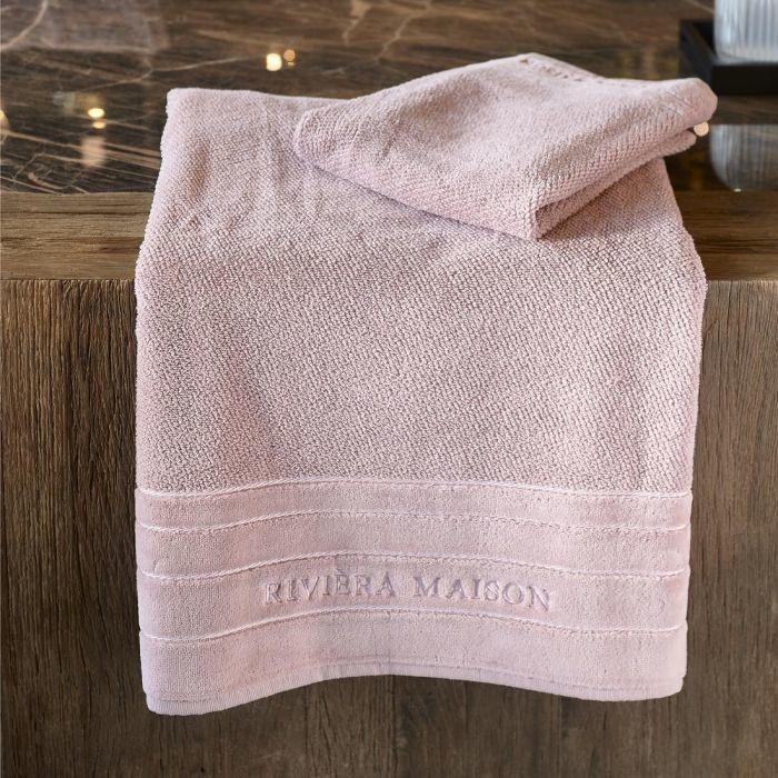 RM Elegant mauve Towel  140x70 Riviera Maison 495270